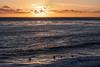 Santa Cruz Sunset with Surfers<br /> Santa Cruz Lighthouse<br /> 1211SC-SCLH2aSWS1