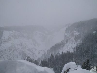 Dylan Klinesteker - Lower Falls Through The Snow