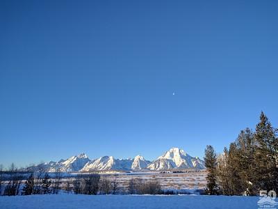Dylan Klinesteker - Sunrise Over The Tetons