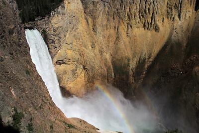 Dylan Klinesteker- Waterfall and Rainbow