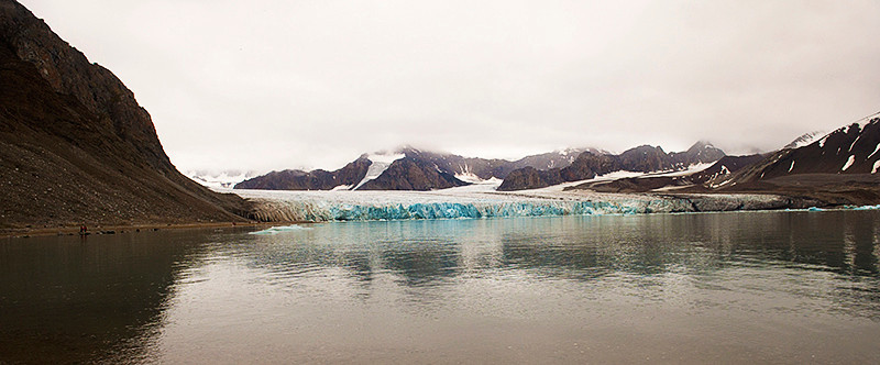 July 14th Glacier, Krossfjord, Svalbard