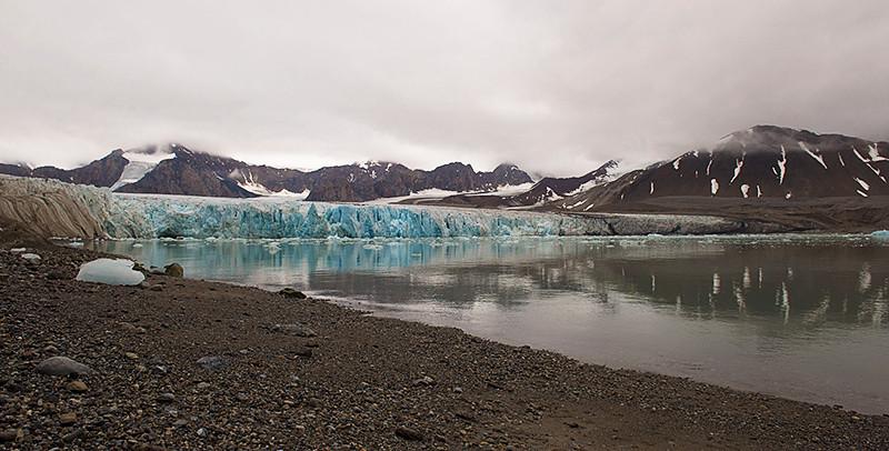 July 14th Glacier, Krossfjord, Svalbard