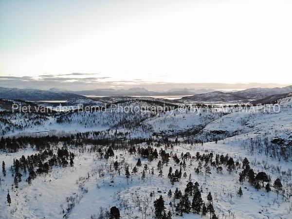Sweden Winter landscape