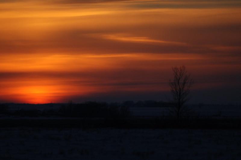 sunset winter farm 2006 TES_0480