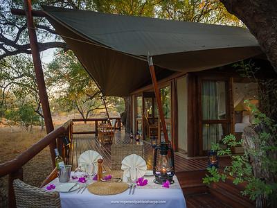 Tuli Safari Lodge. Northern Tuli Game Reserve. Botswana