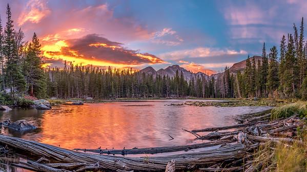 Nymph Lake Sunrise