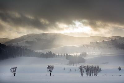 Sun Over Snow