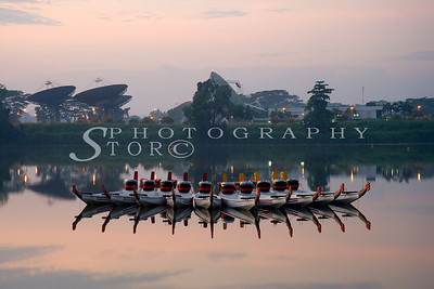 Dragon Boat at Singapore Seletar Reservoir