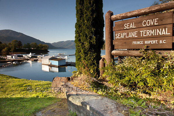 Seal Cove Seaplane Terminal<br /> Prince Rupert, B.C.