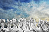 """White pelicans in group<br /> <br /> to purchase - <a href=""""http://dan-friend.artistwebsites.com/featured/white-pelicans-in-group-dan-friend.html"""">http://dan-friend.artistwebsites.com/featured/white-pelicans-in-group-dan-friend.html</a>           .................................................................pixel paintography"""