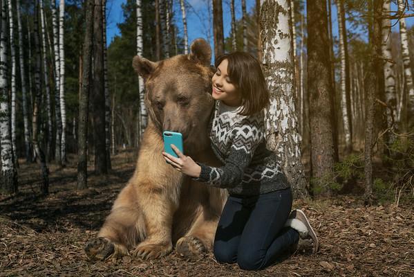 Russian selfie