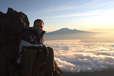 Mt. Meru (4,650 meters, 15,000 feet).
