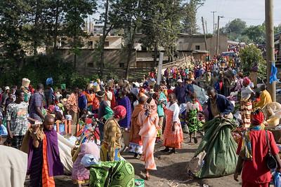 Local market in Arusha
