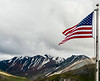 Denali Park - American Flag