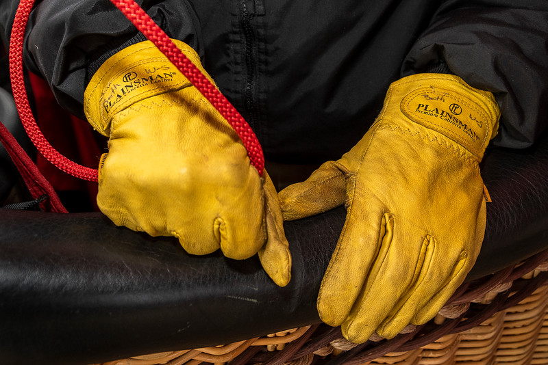 The Balloonist's Hands