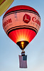 Inaugural Canon Balloon with US Flag Ascends as National Anthem Plays