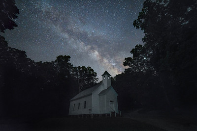 Missionary Baptist Church and Milky Way
