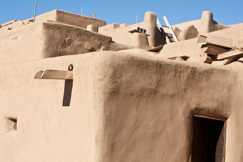 Fine adobe construction, a true multi-family dwelling.
