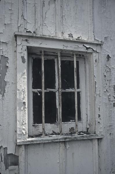 The old barn window.
