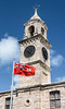 Clocktower at the Royal Naval Dockyard