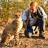 Cheetah starting her day at Ukutula