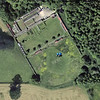 Satellite view of flying ground at Lowther in Cumbria.  Map pins show position of camera.