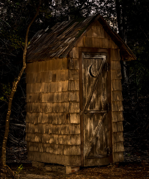 Outhouse at Bill Baggs State Park