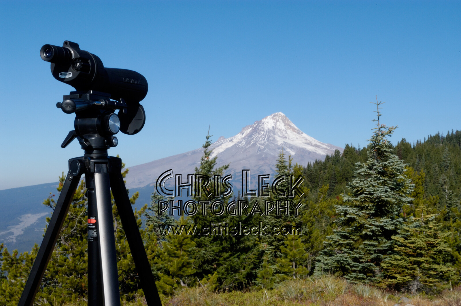 Bonney Butte Observation Point and Mt. Hood