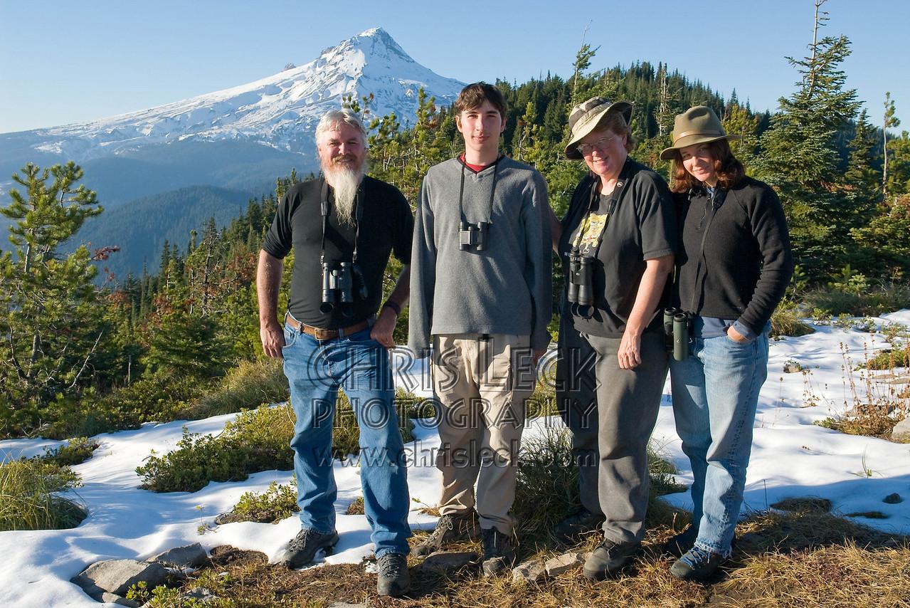 Hawk Watch staff
