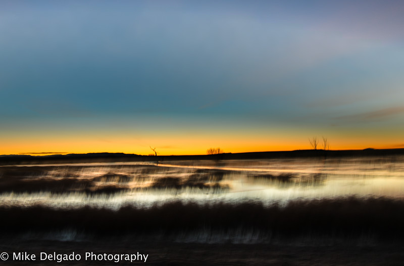 Bosque Del Apache  Sunrise in HDR