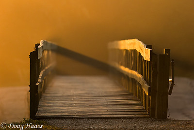 Spillway Bridge at sunrise