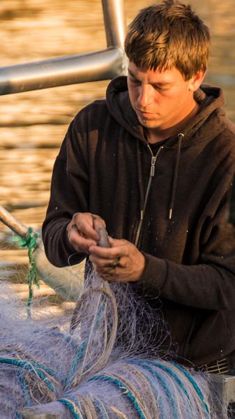 Camargue Fisherman