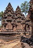 Banteay Srei (AKA Citadel of Women) - Made of pink sandstone & known for its intricate carvings