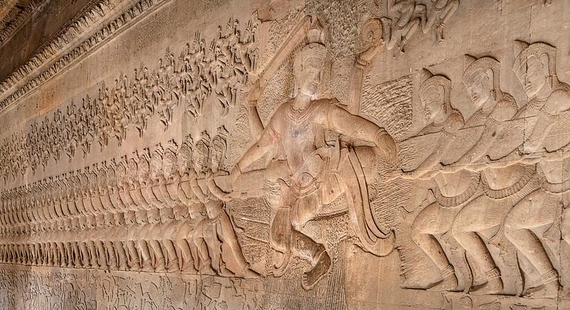 Angkor Wat - The Battle  Between Good & Evil