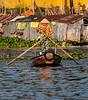 Chau Doc,  Vietnam - River Scene