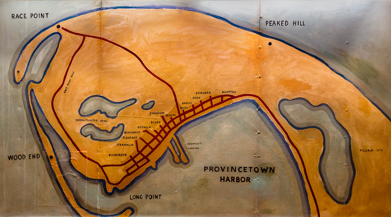 Race Point Depicted on Provincetown Inn Mural