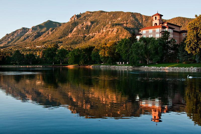 The Broadmoor Hotel in Colorado Springs