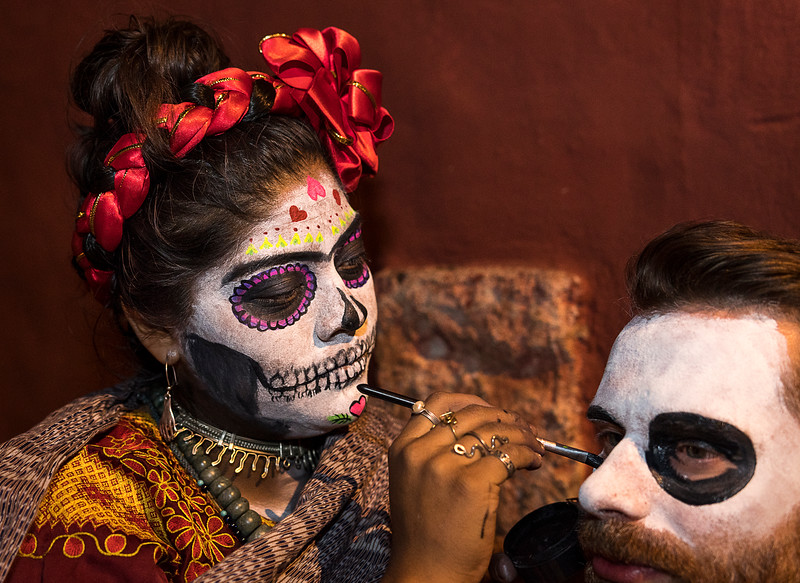 Day of the Dead Celebrants