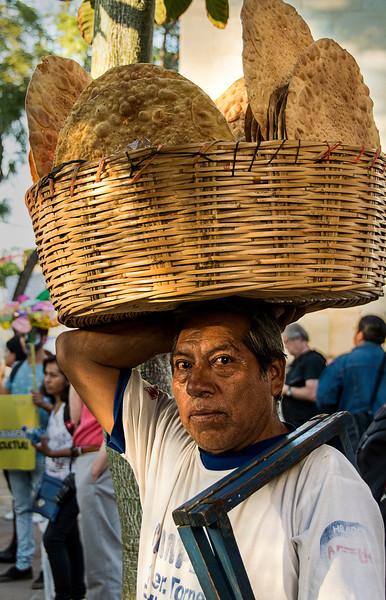 Bringing Bread to the  Plaza Celebration