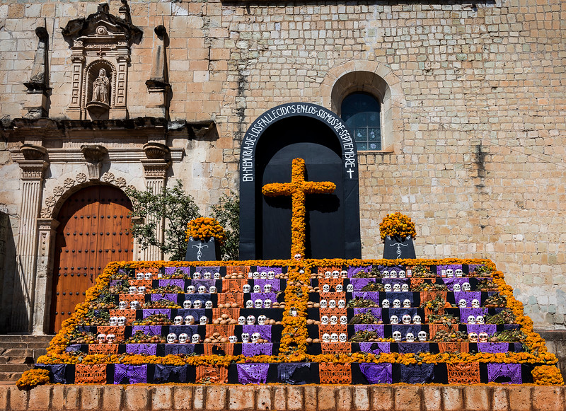 Memorial to Those Who Lost Their Lives in the September 2017 Oaxaca Earthquake - Church of Santo Domingo de Guzman