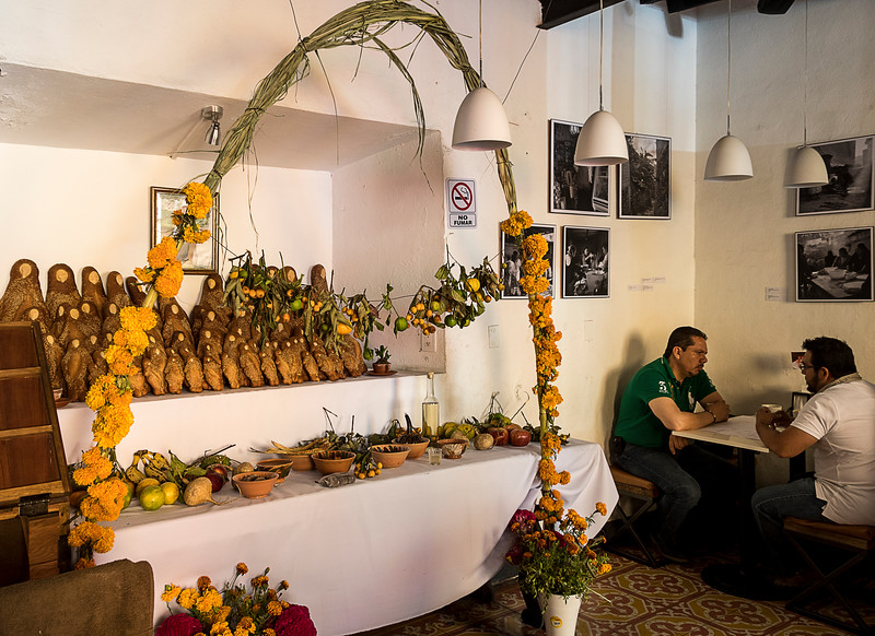 Altar of Remebrance in a Local Restaurant