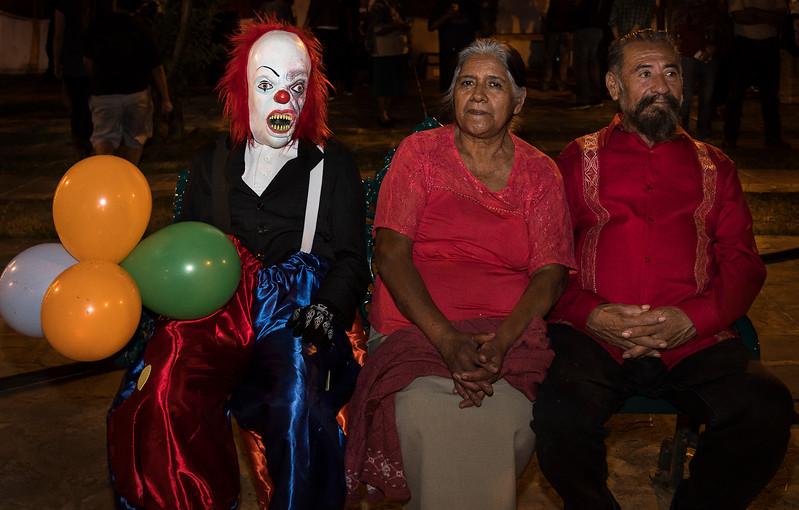 Celebrating in the Plaza