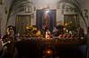 Altar in a private home in a Zapotec village