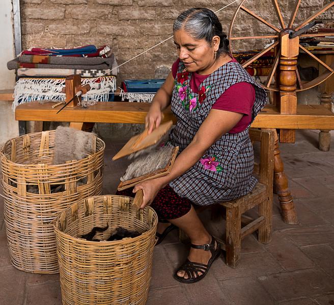 Weaver in a Zapotec Village