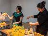 Preparing Marigolds for the Celebration