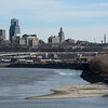 KC Skyline from Kaw Point, Ks