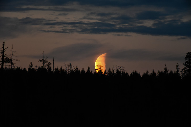 Finnish moonrise
