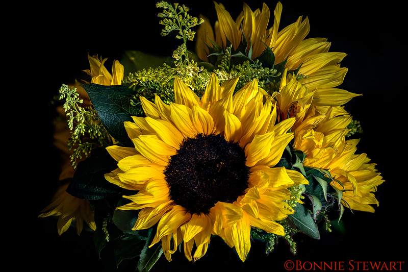 Sun Flower Bouquet for Mother's Day