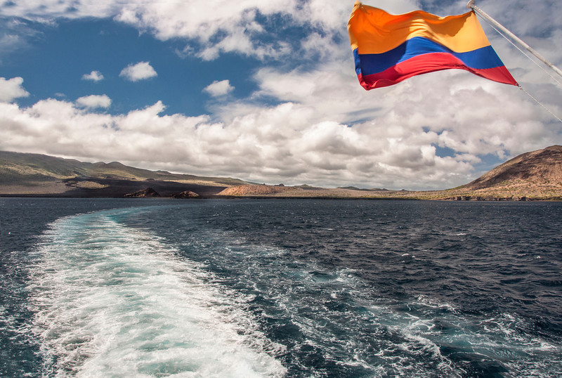 Santiago Island - View from the Ship