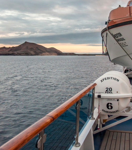 Bartolome Island - View from the Ship